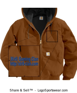 Duck Active Jacket Water Repellent w/Thermal Lined Design Zoom